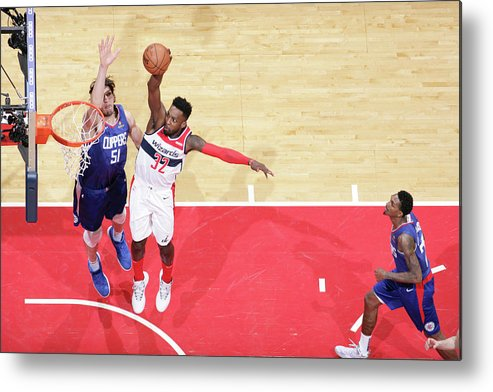 Nba Pro Basketball Metal Print featuring the photograph Jeff Green by Ned Dishman
