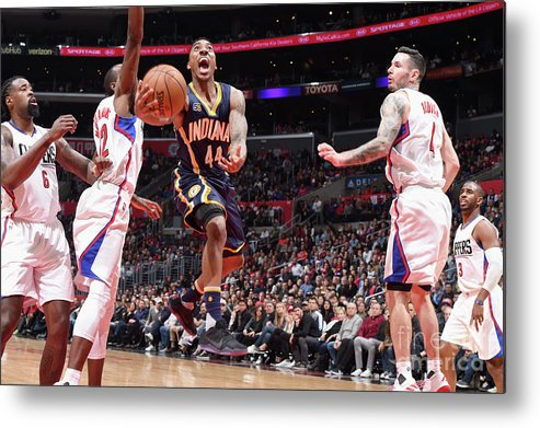 Nba Pro Basketball Metal Print featuring the photograph Jeff Teague by Andrew D. Bernstein