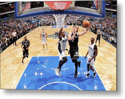 Nba Pro Basketball Metal Print featuring the photograph Joe Harris by Fernando Medina