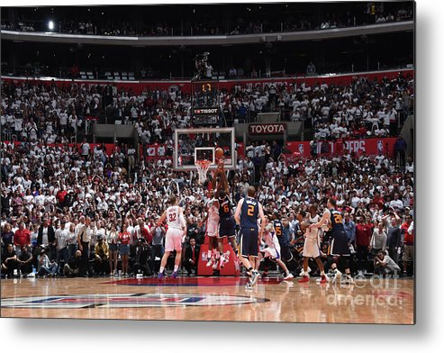 Playoffs Metal Print featuring the photograph Joe Johnson by Andrew D. Bernstein