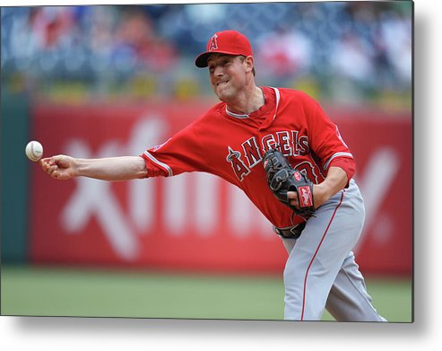 Ninth Inning Metal Print featuring the photograph Joe Smith by Drew Hallowell