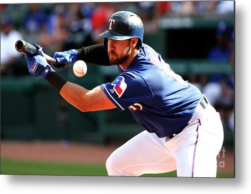 Three Quarter Length Metal Print featuring the photograph Joey Gallo by Ron Jenkins
