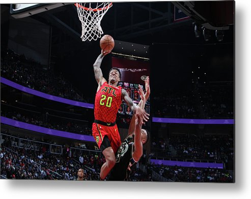 Atlanta Metal Print featuring the photograph John Collins by Jasear Thompson
