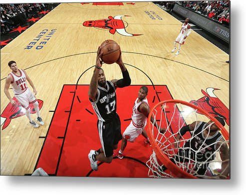 Nba Pro Basketball Metal Print featuring the photograph Jonathon Simmons by Nathaniel S. Butler