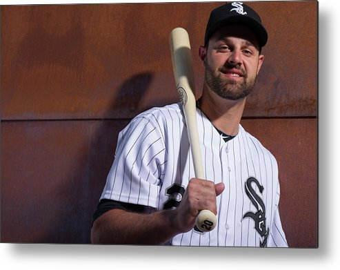 Media Day Metal Print featuring the photograph Jordan Danks by Rob Tringali