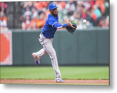 Double Play Metal Print featuring the photograph Jose Reyes by Rob Tringali