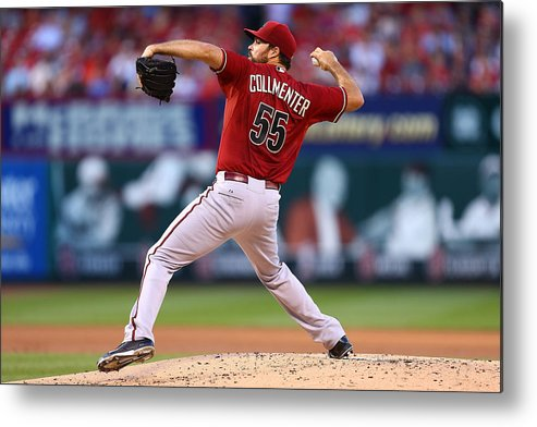 People Metal Print featuring the photograph Josh Collmenter by Dilip Vishwanat