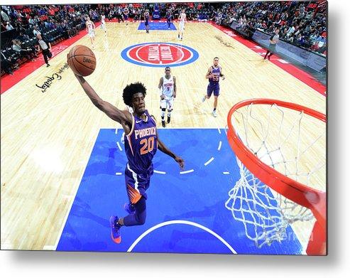 Nba Pro Basketball Metal Print featuring the photograph Josh Jackson by Chris Schwegler