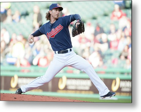 Second Inning Metal Print featuring the photograph Josh Tomlin by Jason Miller