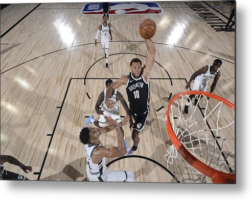 Nba Pro Basketball Metal Print featuring the photograph Justin Anderson by David Dow