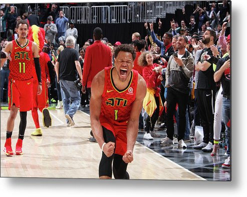 Atlanta Metal Print featuring the photograph Justin Anderson by Jasear Thompson