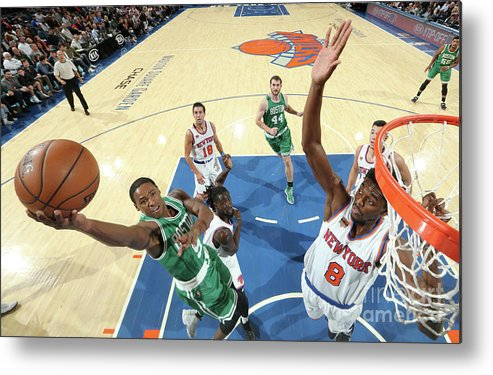 Nba Pro Basketball Metal Print featuring the photograph Justin Holiday and Demetrius Jackson by Nathaniel S. Butler