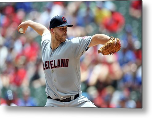 Second Inning Metal Print featuring the photograph Justin Masterson by Rick Yeatts
