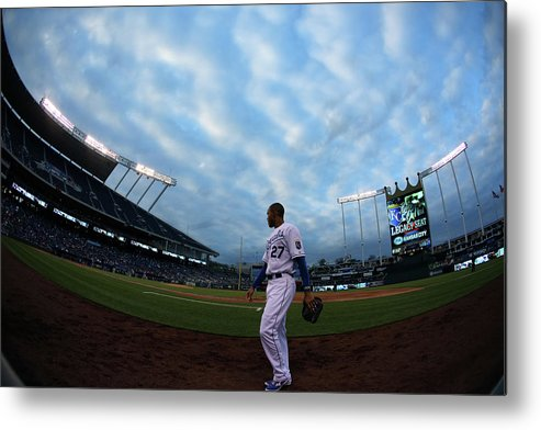 Second Inning Metal Print featuring the photograph Justin Maxwell by Ed Zurga