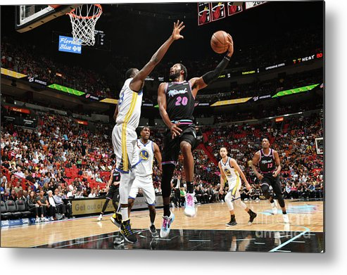Justise Winslow Metal Print featuring the photograph Justise Winslow by Jesse D. Garrabrant