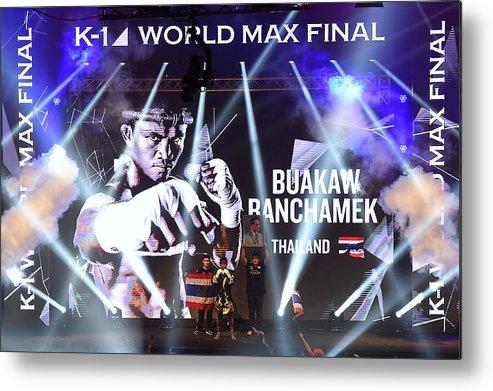 Martial Arts Metal Print featuring the photograph K1 World Max Final by Thananuwat Srirasant