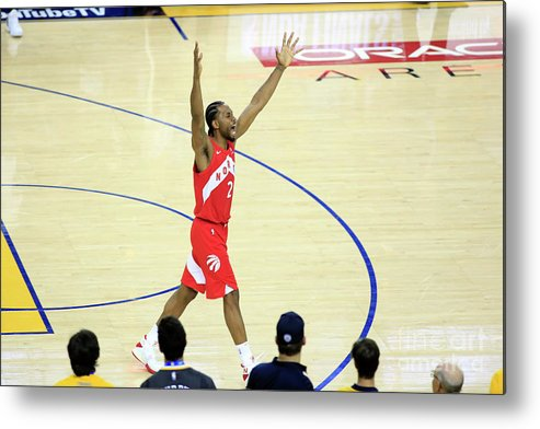 Playoffs Metal Print featuring the photograph Kawhi Leonard by Jack Arent
