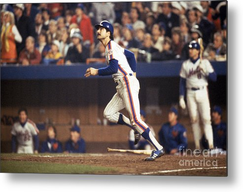 1980-1989 Metal Print featuring the photograph Keith Hernandez by T.g. Higgins