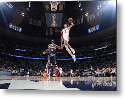 Nba Pro Basketball Metal Print featuring the photograph Kelly Oubre by Bart Young