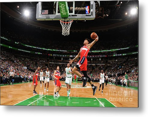 Nba Pro Basketball Metal Print featuring the photograph Kelly Oubre by Brian Babineau