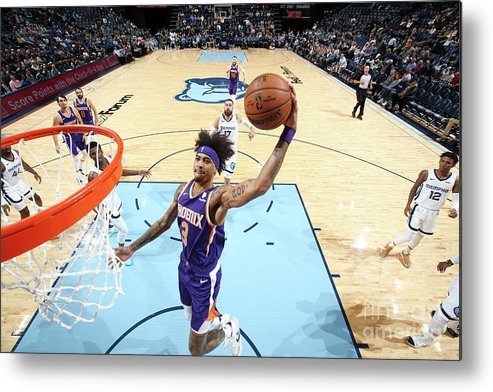 Nba Pro Basketball Metal Print featuring the photograph Kelly Oubre by Joe Murphy