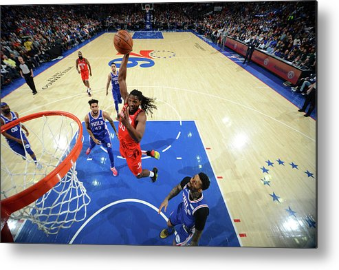 Nba Pro Basketball Metal Print featuring the photograph Kenneth Faried by Jesse D. Garrabrant