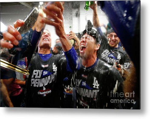 Championship Metal Print featuring the photograph Kenta Maeda by Jamie Squire