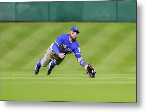 People Metal Print featuring the photograph Kevin Pillar by Bob Levey