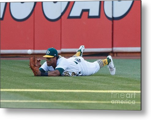 People Metal Print featuring the photograph Khris Davis and George Springer by Jason O. Watson
