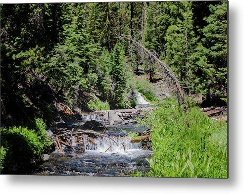 Waterfall Metal Print featuring the photograph Kings Creek by John Heywood