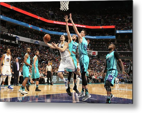 Nba Pro Basketball Metal Print featuring the photograph Klay Thompson by Kent Smith