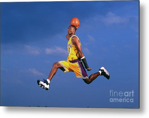 Event Metal Print featuring the photograph Kobe Bryant by Walter Iooss Jr.