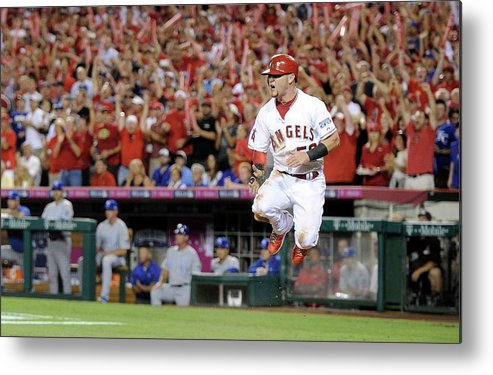 Game Two Metal Print featuring the photograph Kole Calhoun by Harry How