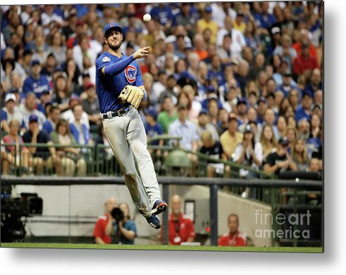 People Metal Print featuring the photograph Kris Bryant by Stacy Revere