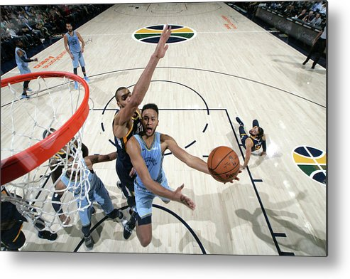 Nba Pro Basketball Metal Print featuring the photograph Kyle Anderson by Melissa Majchrzak