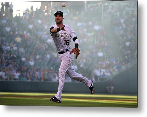 Second Inning Metal Print featuring the photograph Kyle Parker and Jon Gray by Doug Pensinger
