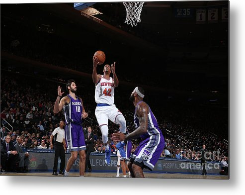 Nba Pro Basketball Metal Print featuring the photograph Lance Thomas by Nathaniel S. Butler