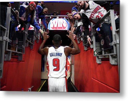 Nba Pro Basketball Metal Print featuring the photograph Langston Galloway by Chris Schwegler
