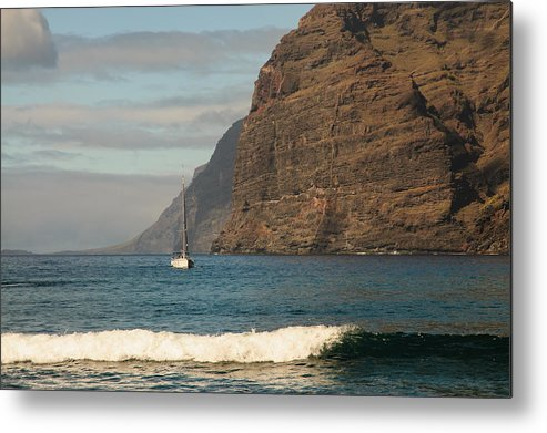 Canary Islands Metal Print featuring the photograph Los Gigantes by Achim Lammerts