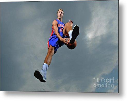Nba Pro Basketball Metal Print featuring the photograph Luke Kennard by Jesse D. Garrabrant