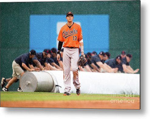 People Metal Print featuring the photograph Manny Machado by Jason Miller