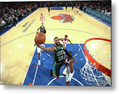Nba Pro Basketball Metal Print featuring the photograph Marcus Morris by Nathaniel S. Butler