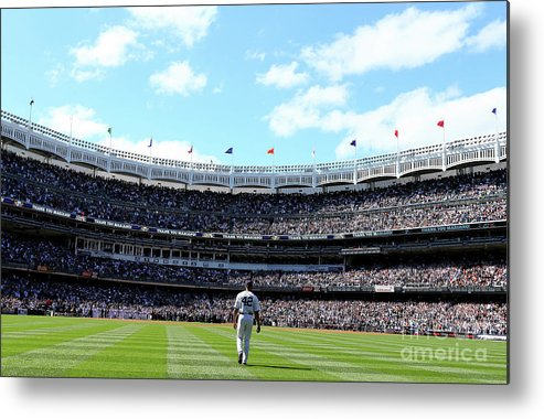 American League Baseball Metal Print featuring the photograph Mariano Rivera by Elsa