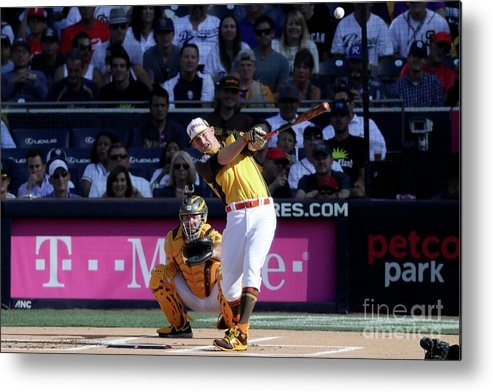 People Metal Print featuring the photograph Mark Trumbo by Sean M. Haffey