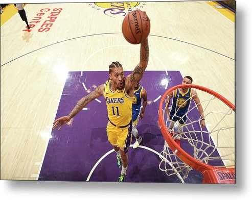 Michael Beasley Metal Print featuring the photograph Michael Beasley by Andrew D. Bernstein