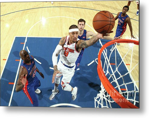 Michael Beasley Metal Print featuring the photograph Michael Beasley by Nathaniel S. Butler