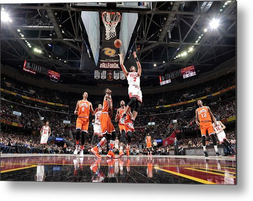 Nba Pro Basketball Metal Print featuring the photograph Michael Carter-williams by David Liam Kyle