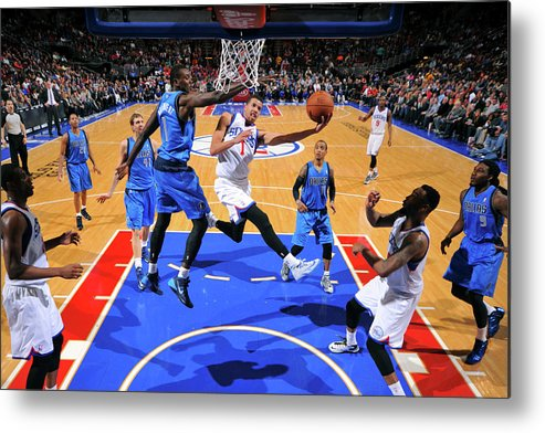 Nba Pro Basketball Metal Print featuring the photograph Michael Carter-williams by Jesse D. Garrabrant