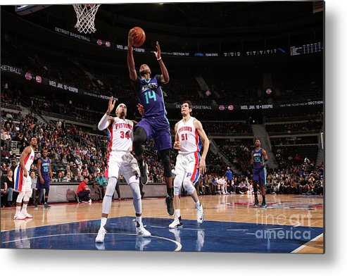 Nba Pro Basketball Metal Print featuring the photograph Michael Kidd-gilchrist by Brian Sevald