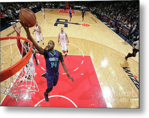 Nba Pro Basketball Metal Print featuring the photograph Michael Kidd-gilchrist by Ned Dishman